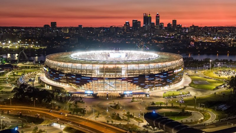 ICC T20 Mens World Cup, Burswood, Western Australia