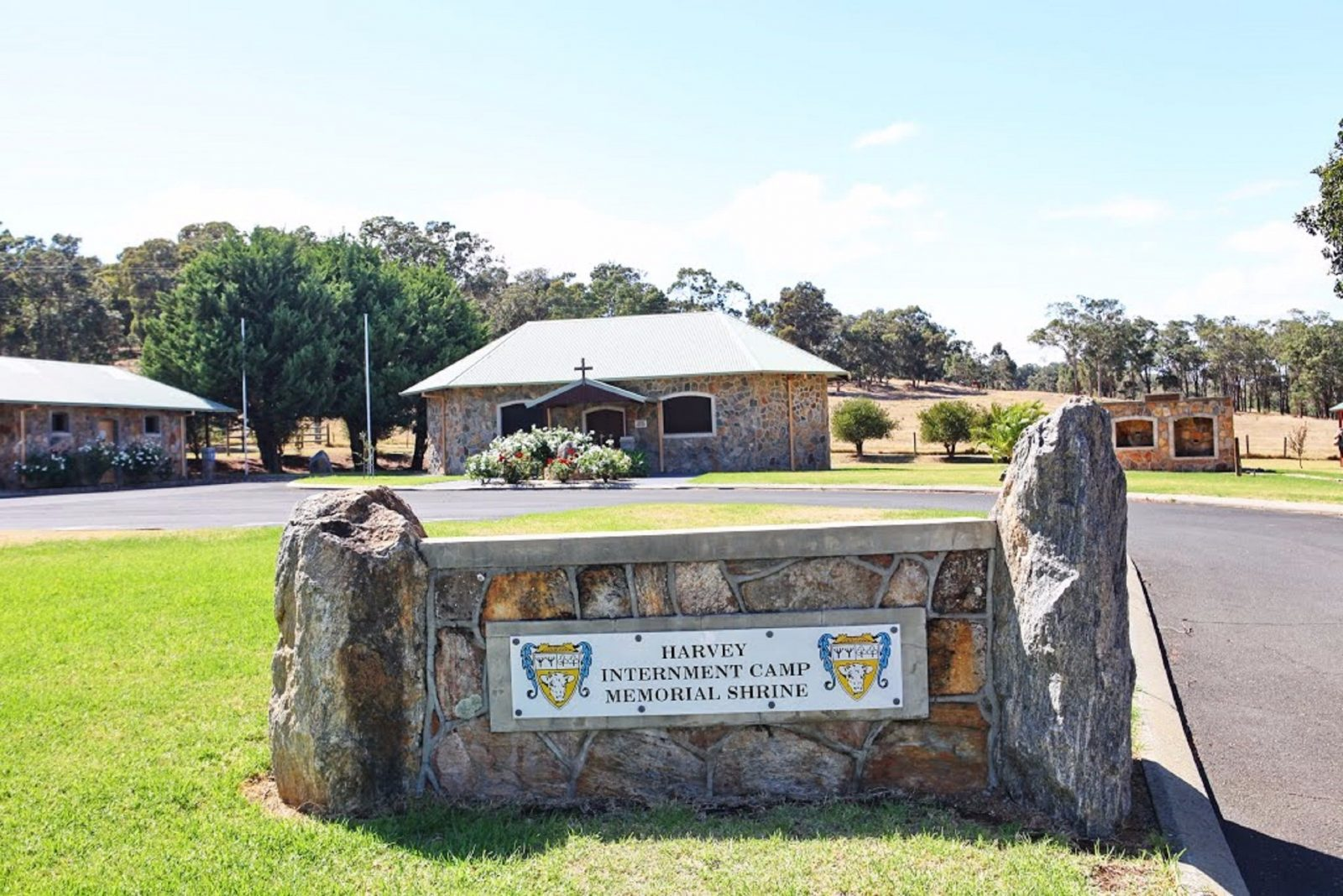 Internment Camp Memorial Shrine, Harvey, Western Australia