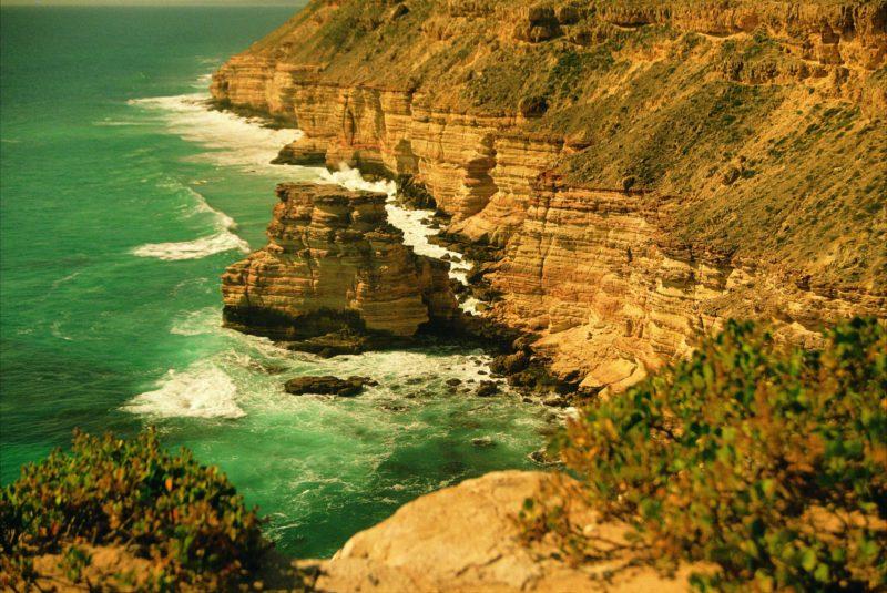 Island Rock and Natural Bridge. Kalbarri, Western Australia