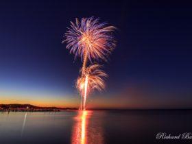 Kalbarri Australia Day Fireworks 2018, Kalbarri, Western Australia
