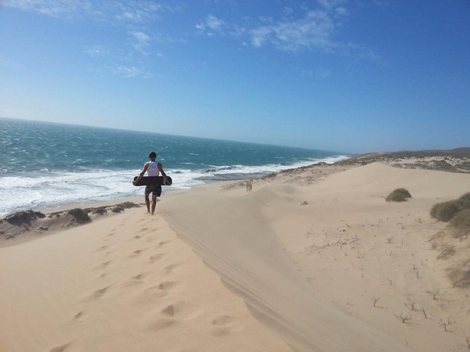 Kalbarri Sandboarding, Kalbarri, Western Australia