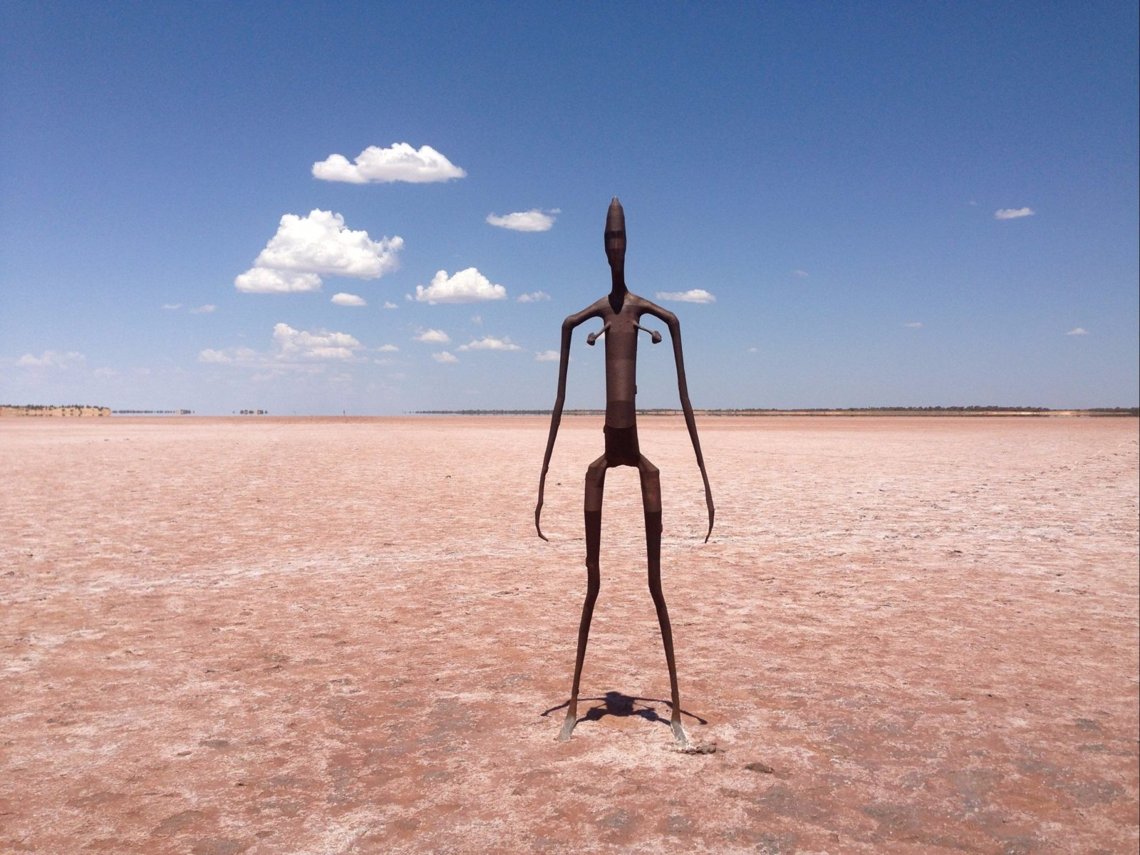 Antony Gormley Sculptures at Lake Ballard, Western Australia