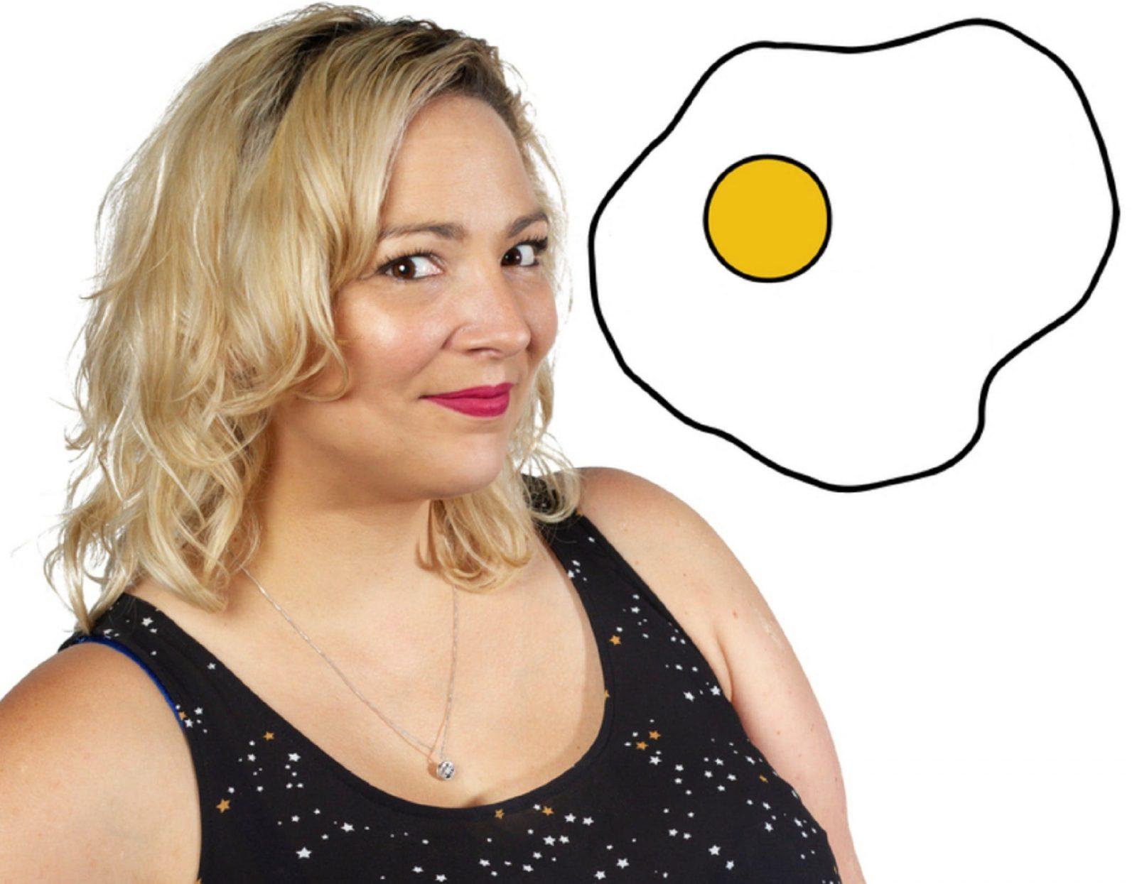 Kelly Fastuca in Good Egg - Fringe World, Northbridge, Western Australia