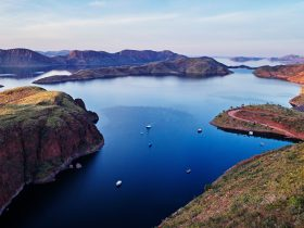 Lake Argyle, near Kununurra