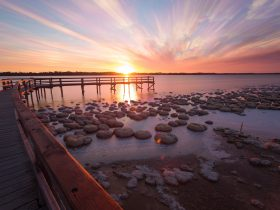 Lake Clifton Thrombolites, Lake Clifton, Western Australia