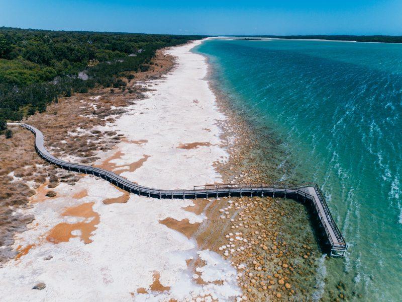 Lake Clifton Thrombolites, Lake Clifton, Western Australia