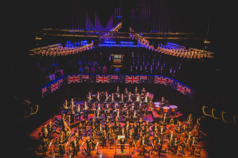 Last Night of the Proms, Perth, Western Australia