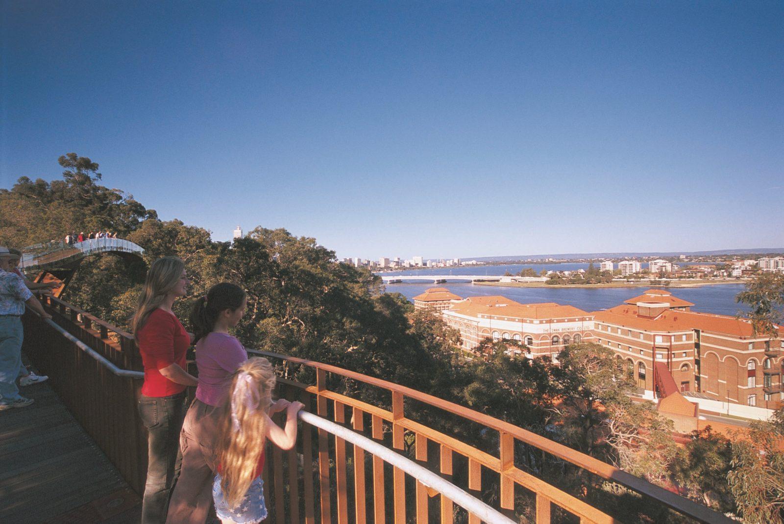 Lotterywest Federation Walkway, West Perth, Western Australia