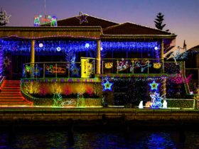 Magical Christmas Lights Cruises with Eco BBQ Boats, Mandurah, Western Australia