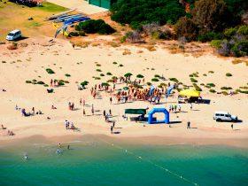 Mandurah Australia Day Swim, Halls Head, Western Australia