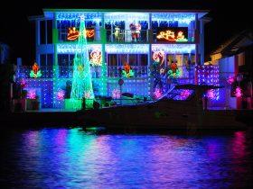Mandurah Canals Annual Christmas Lights Phenomenon, Mandurah, Western Australia