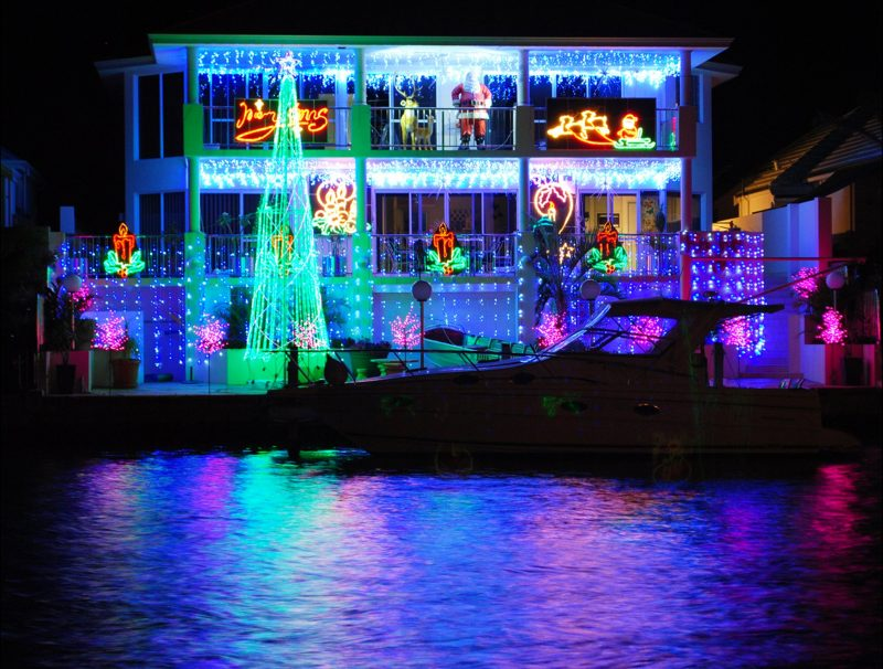Mandurah Canals Annual Christmas Lights Phenomenon, Mandurah, Western Australia