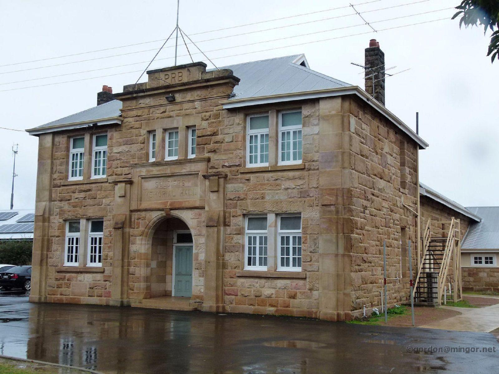 Memorial Hall, Donnybrook, Western Australia