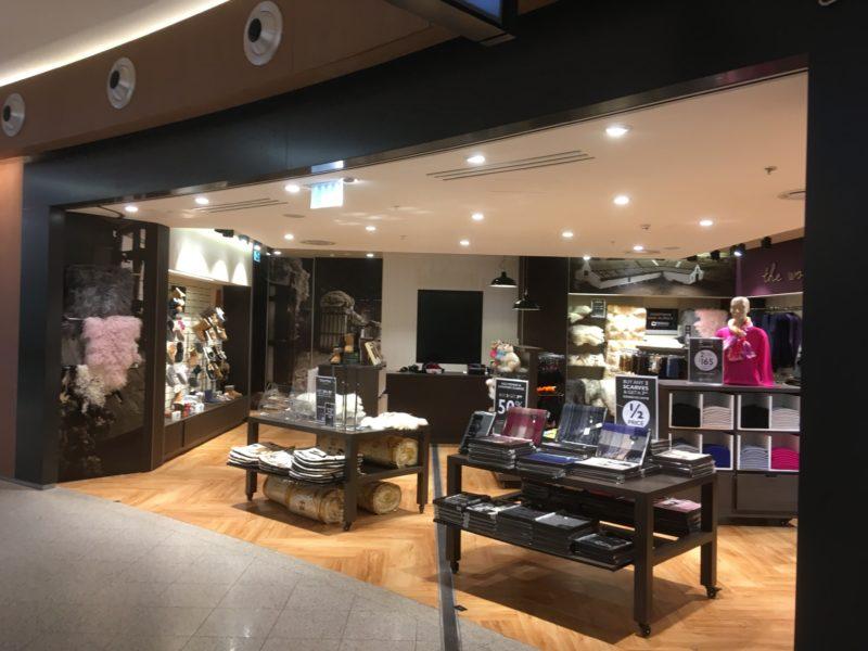 Merino Collection - Perth Airport T1, Western Australia
