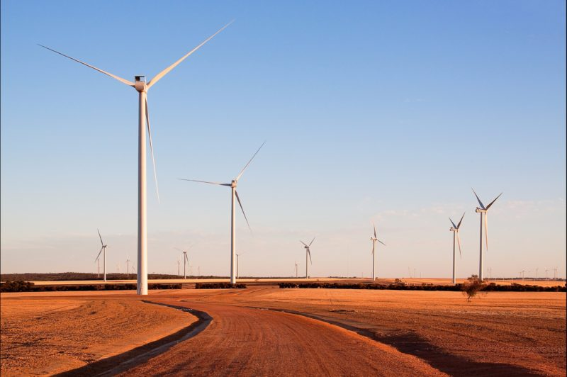 Merredin Collgar Wind Farm, Merredin, Western Australia