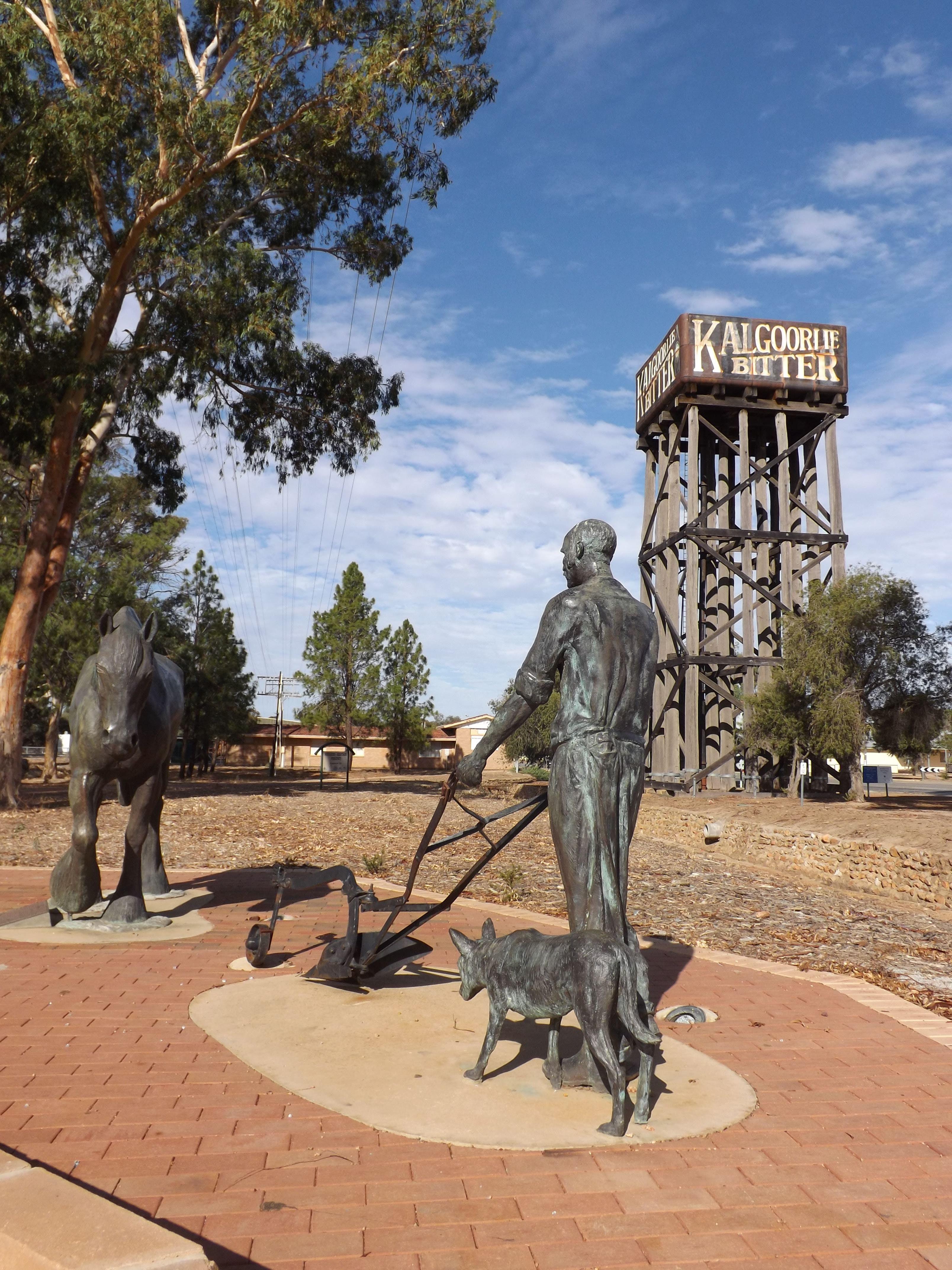 Merredin Railway Water Tower, Merredin, Western Australia