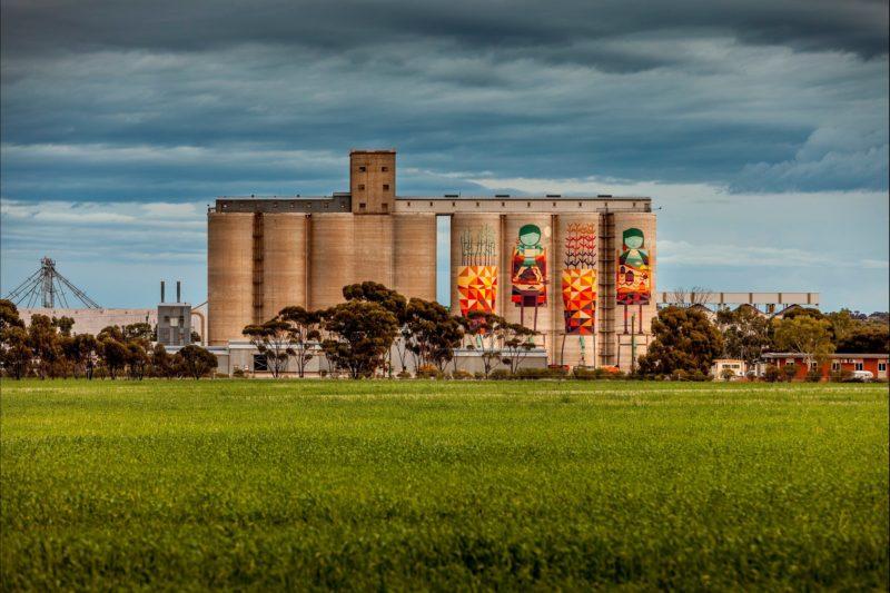 Merredin's Painted Grain Silos, Merredin, Western Australia