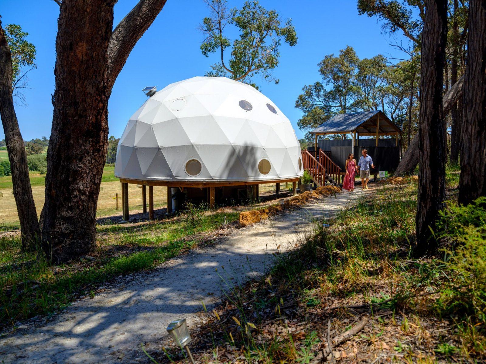 Mile End Glamping, Yelverton, Western Australia