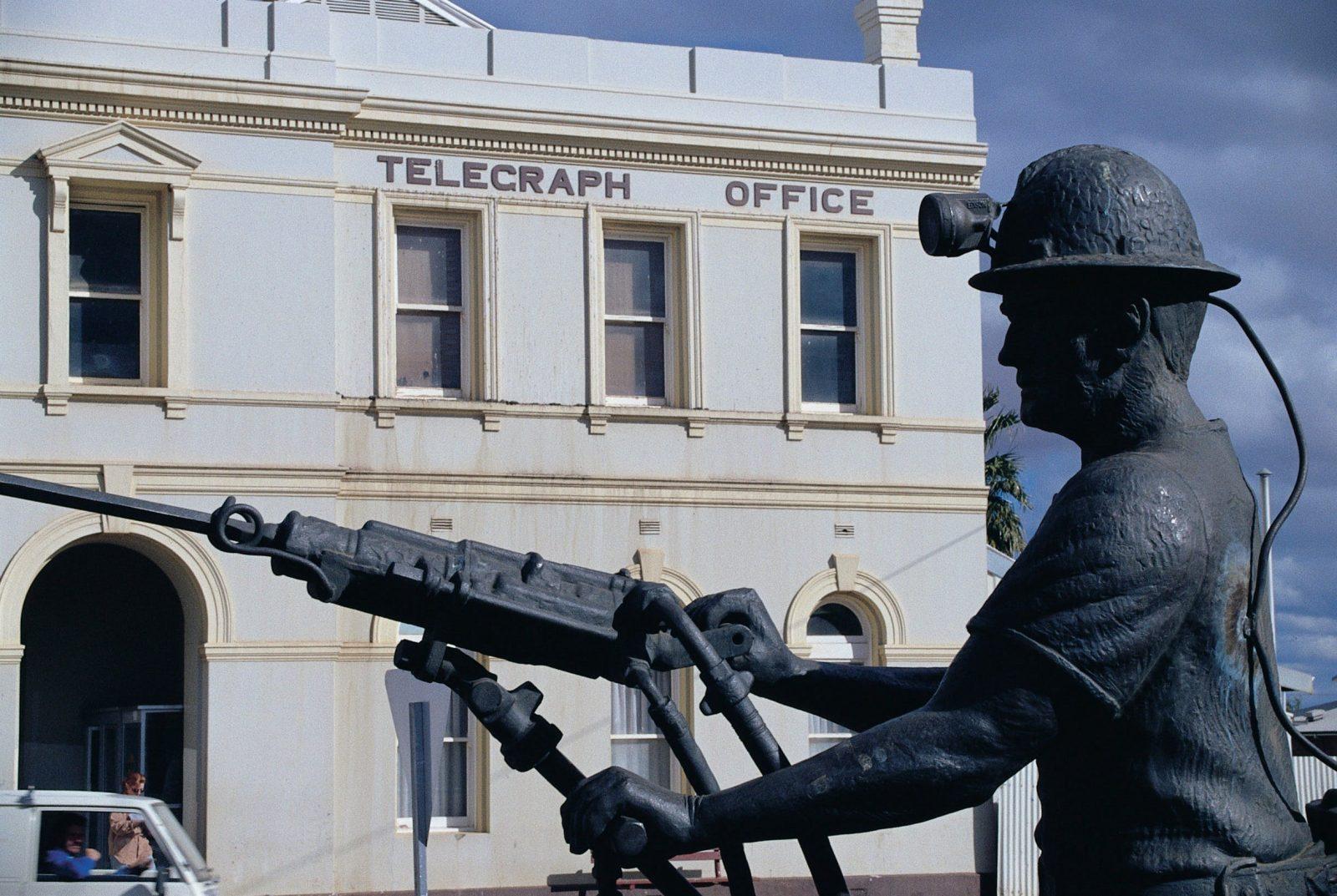 Miners Monument, Boulder, Western Australia