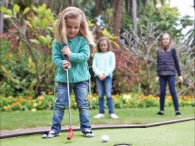 Mini Golf At Wanneroo Botanical Gardens, Wanneroo, Western Australia