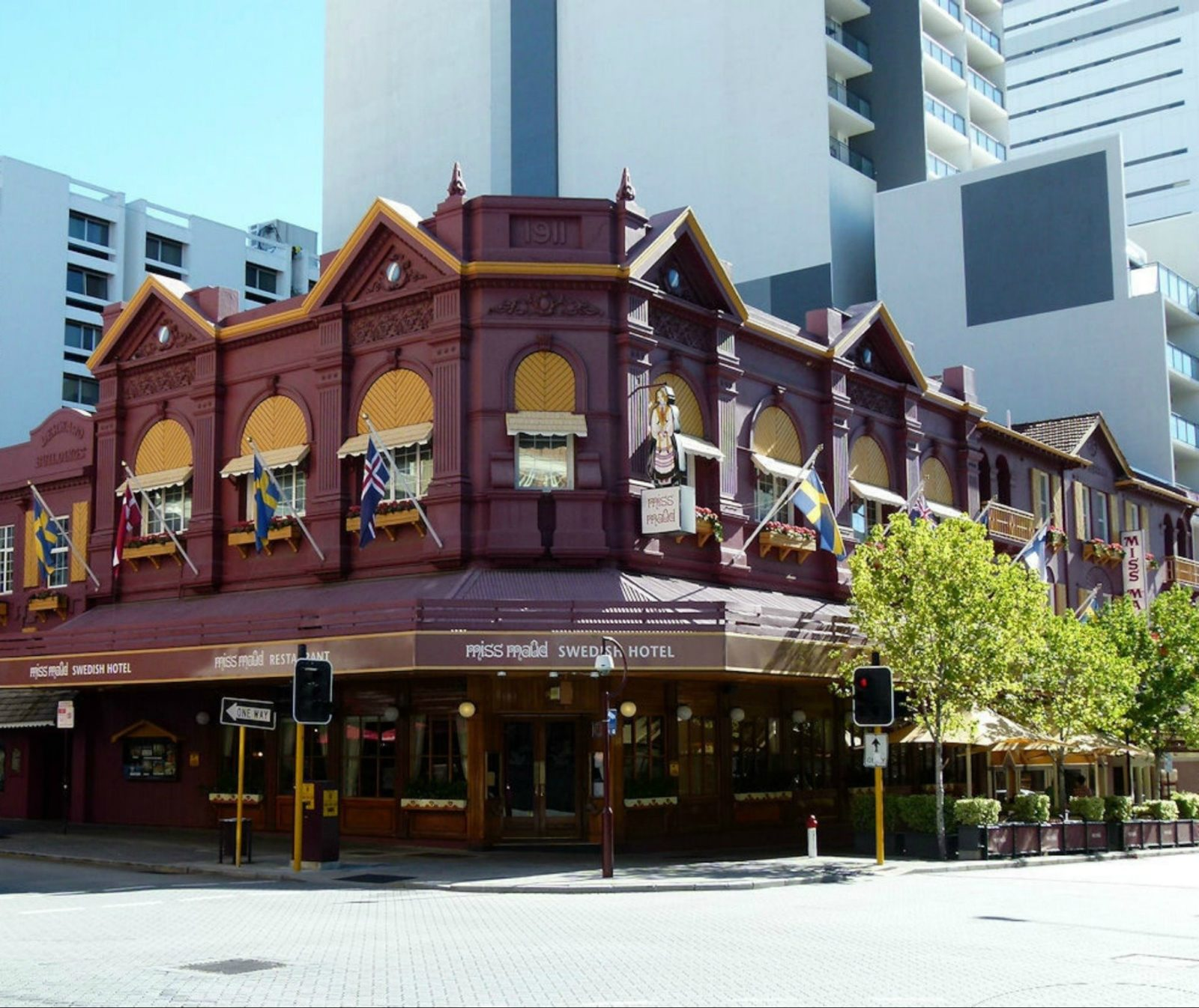 Miss Maud Swedish Hotel, Perth, Western Australia