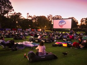 Moonlight Cinema, Kings Park, Western Australia