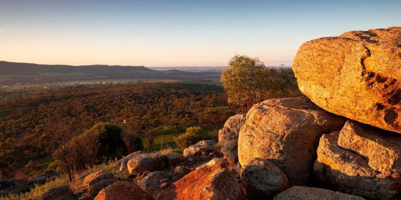 Mount Brown Lookout, York, Western Australia