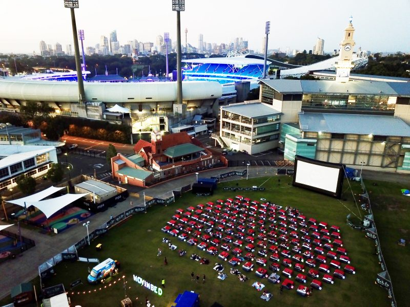 Mov'in Bed - Outdoor Bed Cinema, Perth, Western Australia