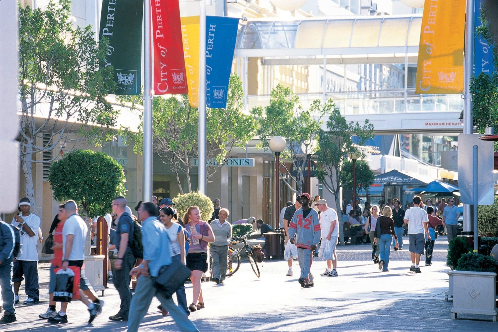 Murrary Street Mall, Perth, Western Australia