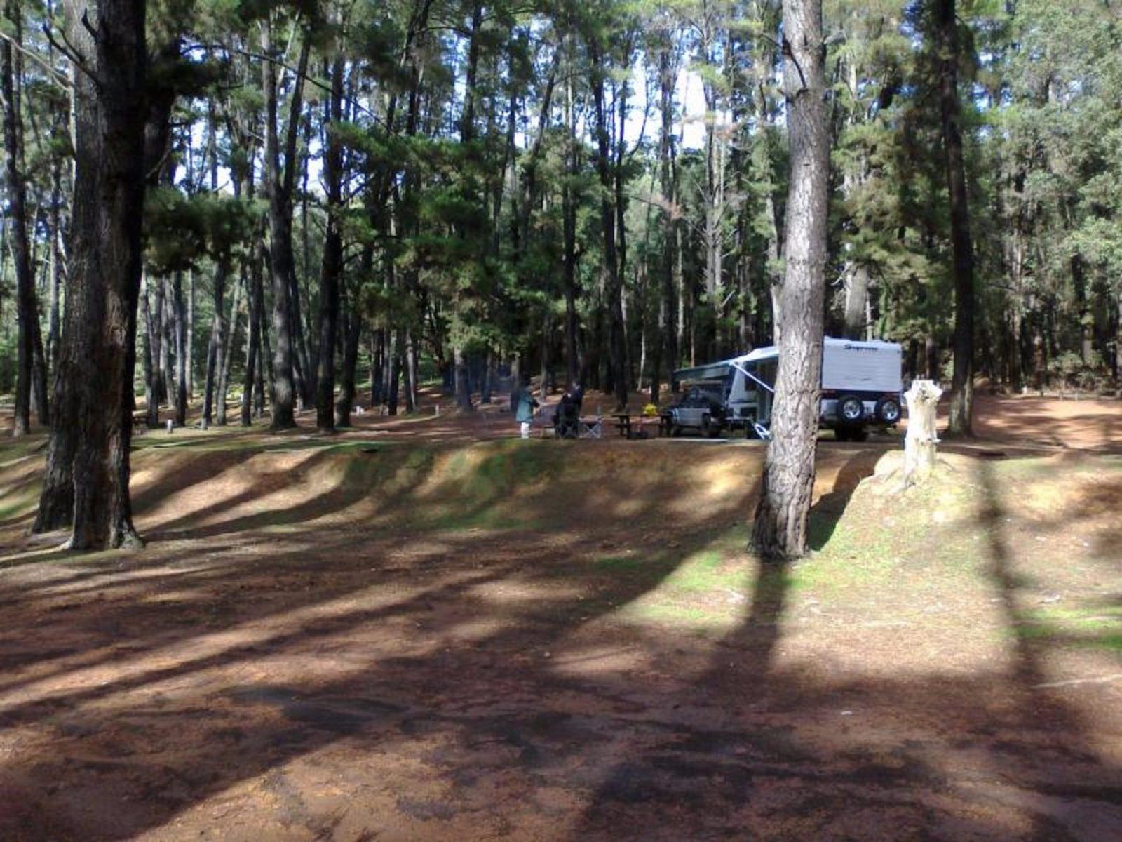 Nanga Townsite Camp at Lane Poole Reserve, Western Australia