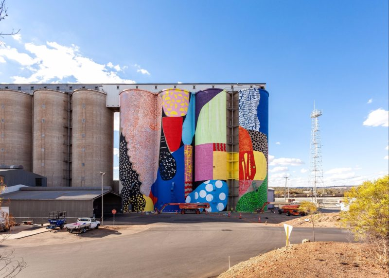 Northam's Painted Grain Silos, Northam, Western Australia