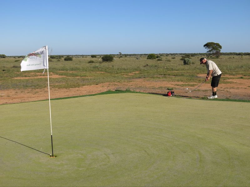 Nullarbor Links - World's Longest Golf Course Australia, Kalgoorlie, Western Australia