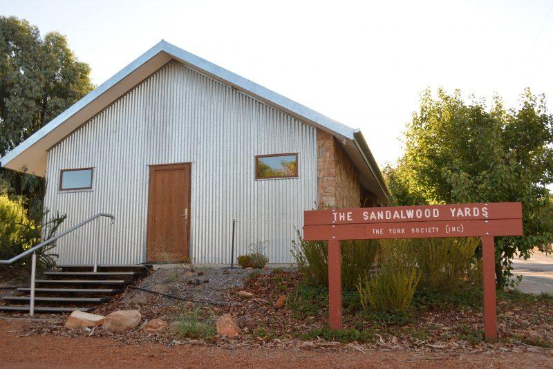Old Sandalwood Yards and Tipperary School Museum, York, Western Australia