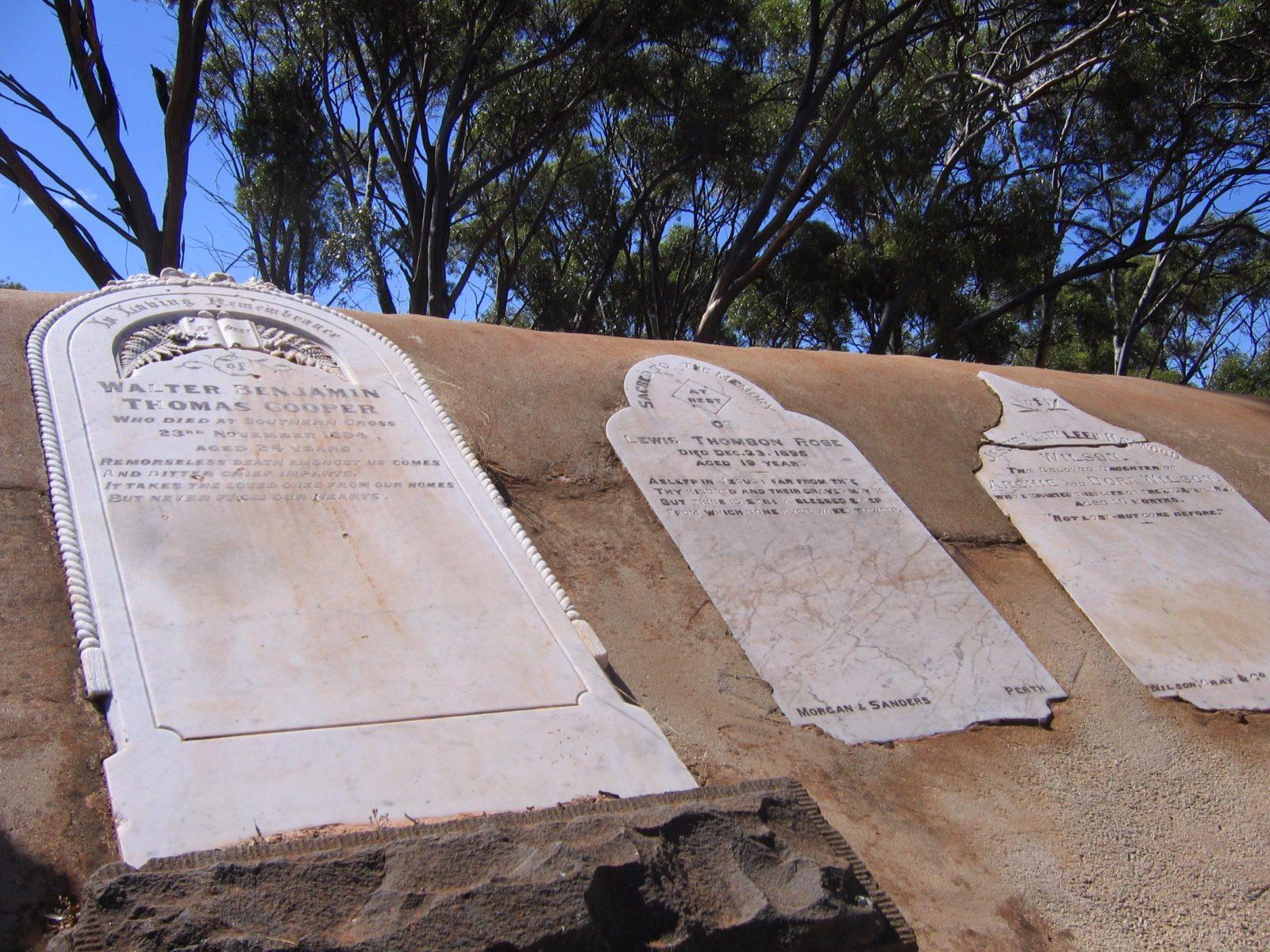 Old Southern Cross Cemetery, Southern Cross, Western Australia