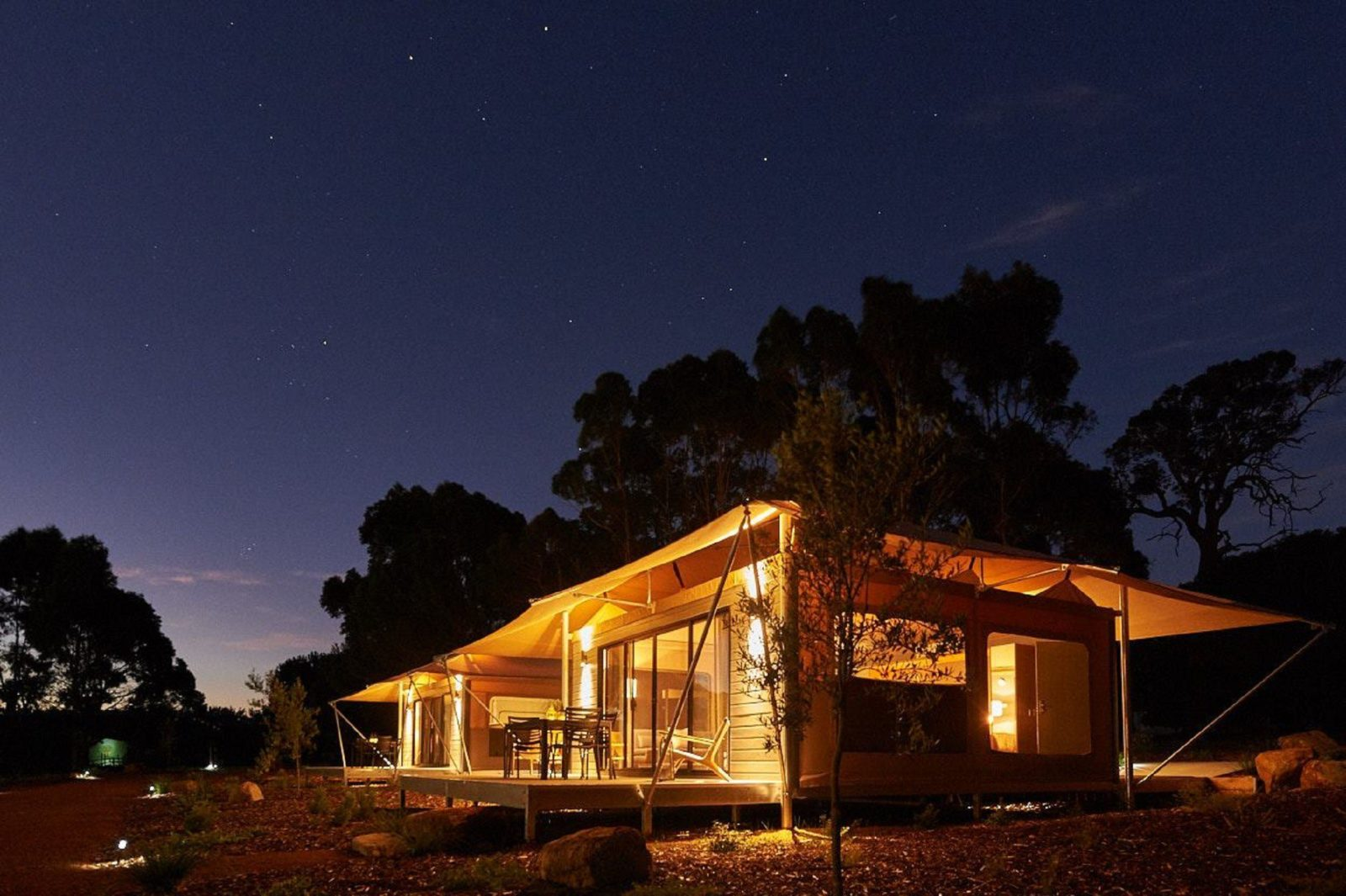 Olio Bello Lakeside Glamping, Cowaramup, Western Australia