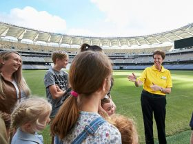 Optus Stadium Tour Leader
