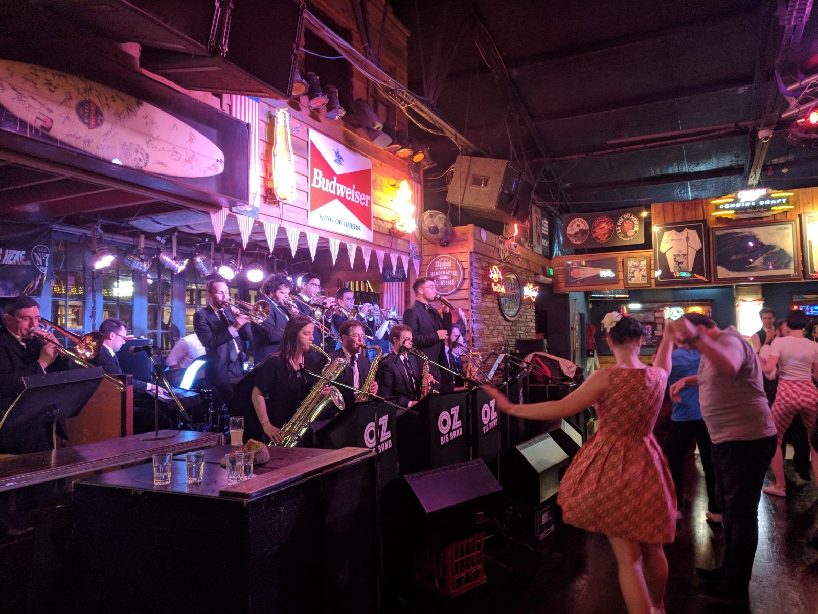 Oz Big Band, Northbridge, Western Australia