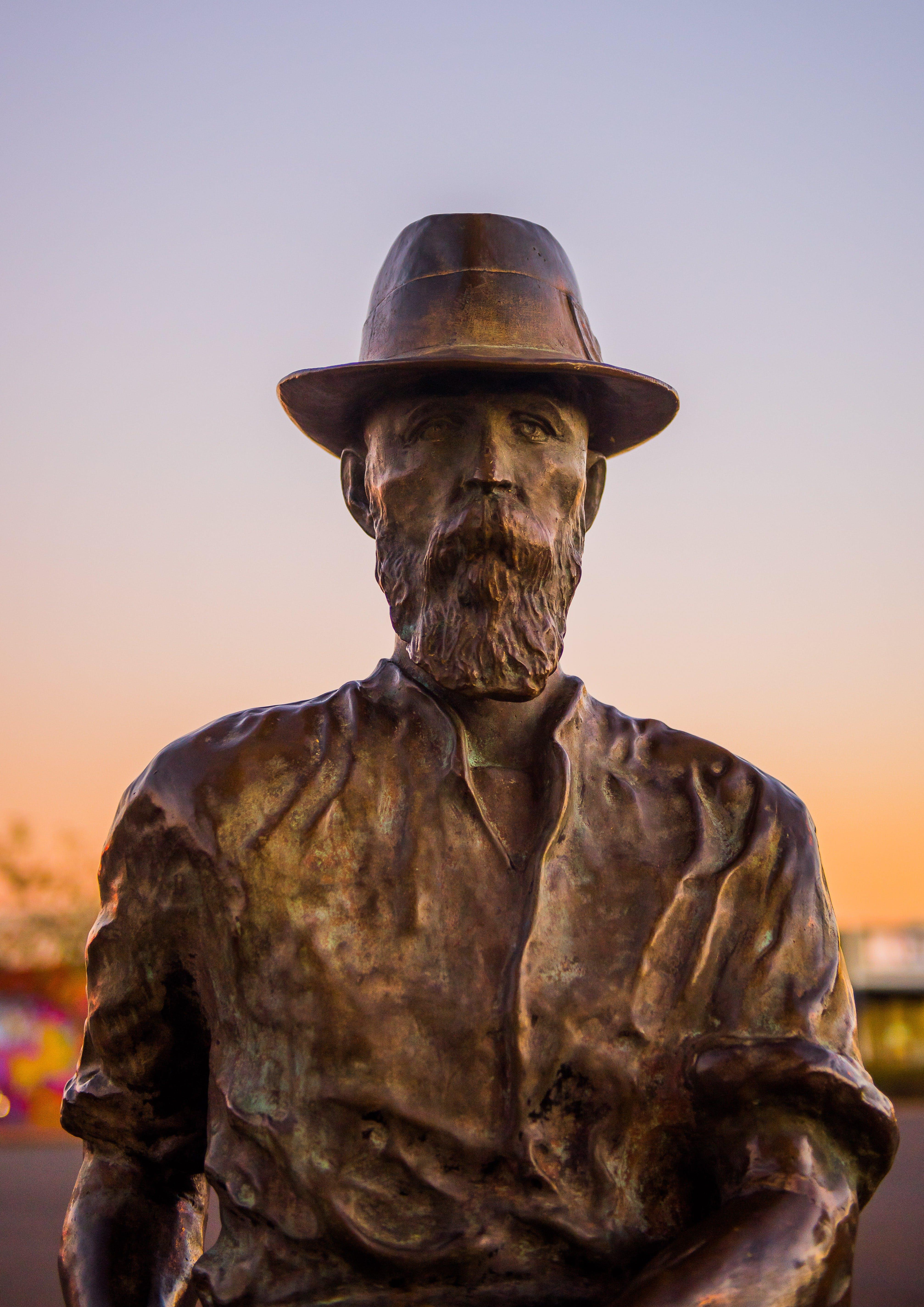 Paddy Hannan Statue, Kalgoorlie, Western Australia