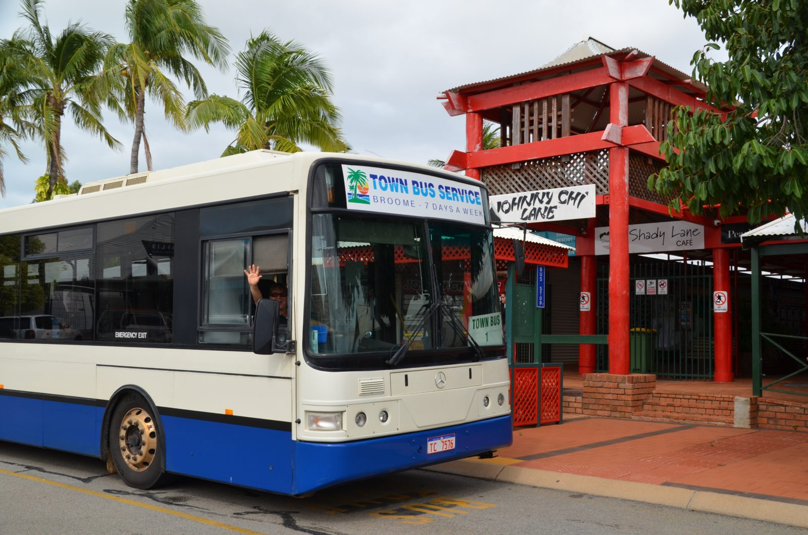 Pearl Town Bus Service, Broome, Western Australia