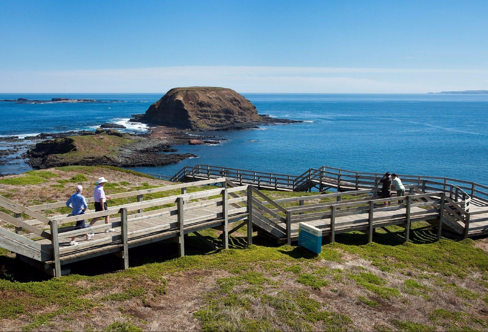 Penguin Island Boardwalks and Walk Trail, Rockingham, Western Australia