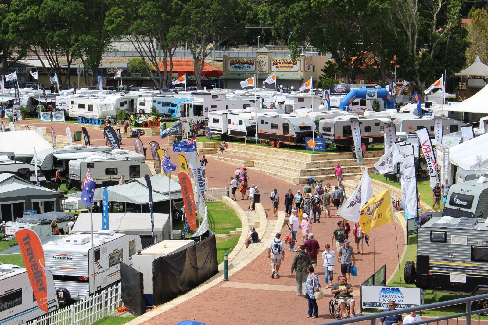 Perth Caravan and Camping Show, Perth, Western Australia