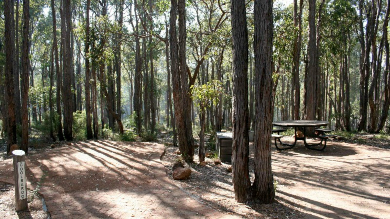 Perth Hills Centre Campground at Beelu National Park, Perth, Western Australia