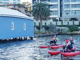 Perth Waterbike Adventures, Crawley, Western Australia