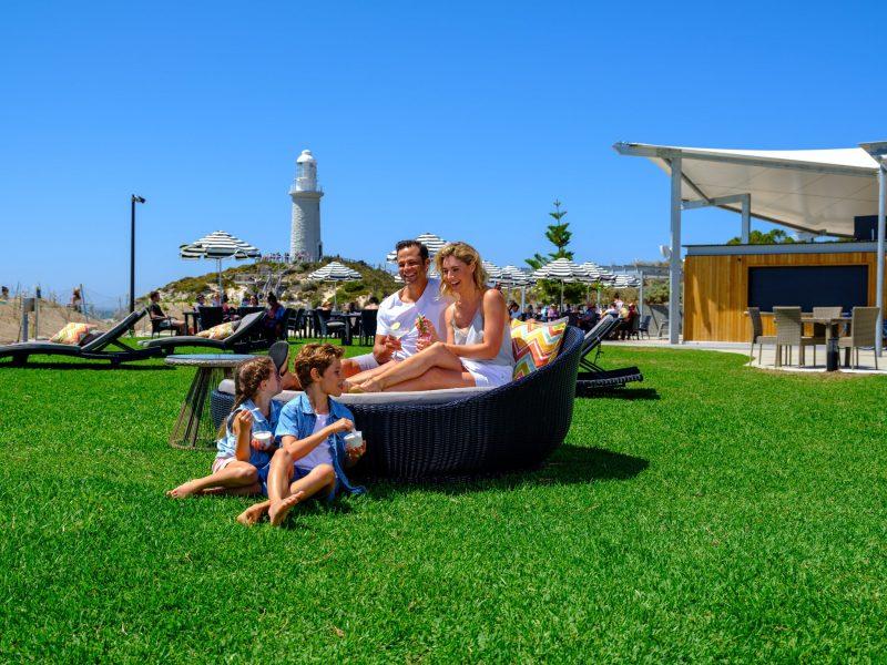 Pinky's Beach Club, Rottnest Island, Western Australia