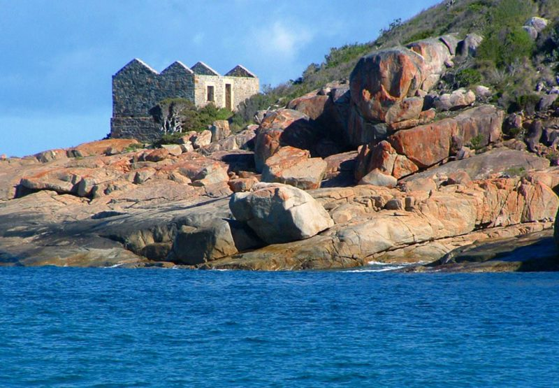 Point King Lighthouse and Cottage Ruins, Albany, Western Australia