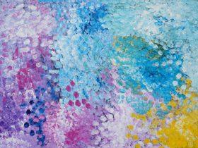 Polly Ngale & Kathleen Ngale - Bush Plum Dreaming, Fremantle, Western Australia