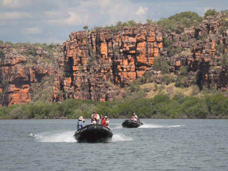 Ponant (L'Austral) - Zodiac outing in the Kimberley