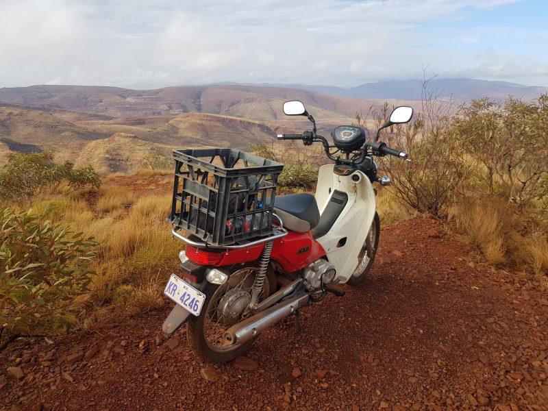 Postie Bike Adventures Australia, Karijini, Western Australia
