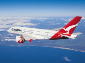 Qantas Airways, Perth, Western Australia