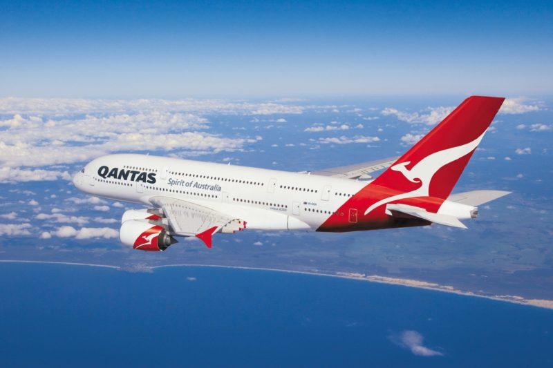 Qantas Airways, Perth, Western Australia
